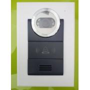 Telecamera con audio bidirezionale per videocitofono 4 fili e serratura elettronica