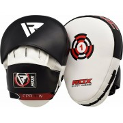RDX Boxing Focus Pads Hook & Jab Mitts Kick MMA Training Punch Bag Kick Curved W