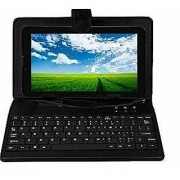 IKALL N8 Dual Sim 3G Calling Tablet with 7 inch Display (1GB + 16GB) With Keyboard