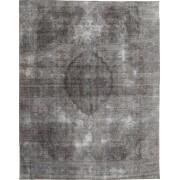 Handgeknüpft. Ursprung: Persia / Iran 280X360 Colored Vintage Teppich Echter Moderner Handgeknüpfter Dunkelgrau/Hellgrau Großer (Wolle, Persien/Iran)