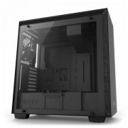 Кутия NZXT H700 Matte Mid-Tower, Black, NZXT-CASE-H700B-B1