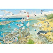 Puzzle Schmidt - Animals at the Seaside, 60 piese (56248)
