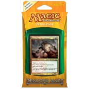 Magic the Gathering (MTG) Dragons Maze Intro Pack: Gruul Siege (Includes 2 Booster Packs) Theme Deck