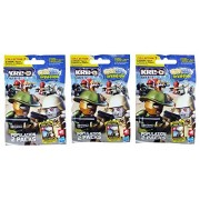 Kre-O Cityville Invasion Kreon Population 2 Figure Pack Collection 1 Mini Figure Blind Bag Mystery Packs (3 Packs)