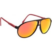 Carrera Aviator Sunglasses(Red)