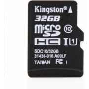 Kingston 32 GB MicroSDHC Class 10 80 MB/s Memory Card