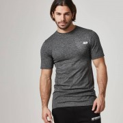 Myprotein Seamless Short-Sleeve T-Shirt - L - Black