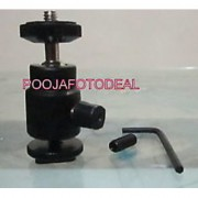 Multi Purpose 1/4 Mini Tripod Ball Head Kit Shoe mount for all DSLR camera NEW