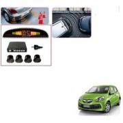 Auto Addict Car Black Reverse Parking Sensor With LED Display For Honda Brio