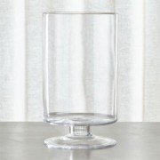 London Large Clear Hurricane Candle Holder