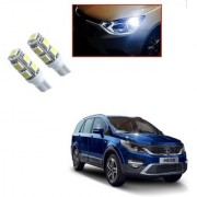 Auto Addict Car T10 9 SMD Headlight LED Bulb for Headlights Parking Light Number Plate Light Indicator Light For Tata Hexa