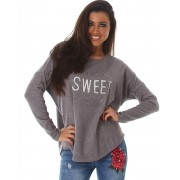 Sweet Girl - Grå Tröja