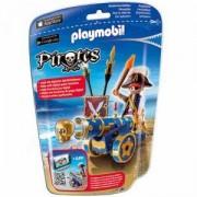 Комплект ПЛЕЙМОБИЛ - Пират с оръдие, 6164 Playmobil, 291176
