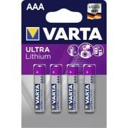 Varta AAA lithium 4x