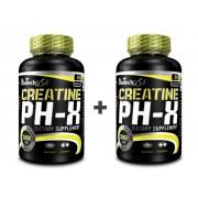 BioTech USA Akciový balíček Creatine pH-X 2 x 90 kaps