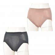 帝人ベルオアシス使用吸水消臭ショーツナイトロング2枚セット【QVC】40代・50代レディースファッション