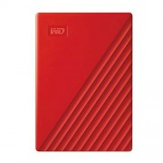 WD 2TB My Passport Portable External Hard Drive, Red BYVG0020BRD-WESN