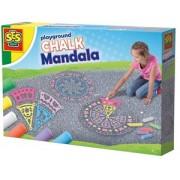SES - Stoepkrijt Mandala