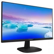 """Monitor 27"""" PHILIPS 273V7QDSB/00, IPS, 16:9, FHD, 5 ms, VGA, DVI-D, HDMI, slim edges"""