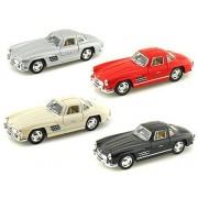 Set of 4 - 1954 Mercedes- Benz 300 SL Coupe 1/36