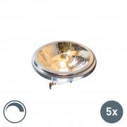 Osram Zestaw 5 x żarówka halogenowa G53 AR111 50W 540 lm 3000K ściemnialna