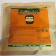 Shagun Gold organic brown beard henna powder for men 4x 100 Gram