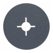 Bosch Disque abrasif sur fibres R574, Best for Metal D = 115 mm ; G = 120