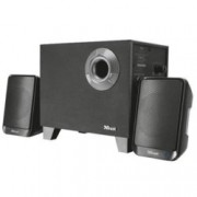 Тонколони Trust Evon BT, 2.1, 15 W RMS, Bluetooth, черни