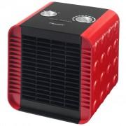 Bestron Keramický teplovzdušný ventilátor červený ACH1500R