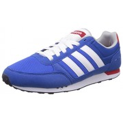 adidas neo Men's City Racer Blue, Ftwwht and Powred Running Shoes - 7 UK/India (40.7 EU)
