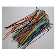 100Pcs 115mm Multicolor Cable Ties Pack