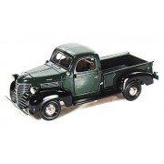 1941 Plymouth Pickup Truck, Green Motormax 73278 1/24 Scale Diecast Model Toy Car
