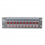 Showtec DJ Switch 10-Flash Base de interruptores 10-canales