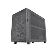 Thermaltake Core X2 Computer Case - Mini ITX, Micro ATX Motherboard Supported - Cube - SPCC - Black - 11.60 kg