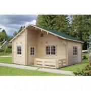 Casa de madera Emily 4 de 590x570 cm. para Jardín