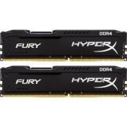 DDR4, KIT 16GB, 2x8GB, 2400MHz, KINGSTON HyperX Fury Black, CL14 (HX424C15FBK2/16)