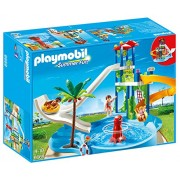 Playmobil 6669 Water Park Simulation Game With Giant Slides