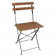 Bolero GJ766 - Bolero Faux Wood Bistro Chair (Pack 2)