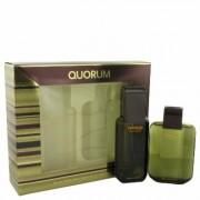 Quorum For Men By Antonio Puig Gift Set - 3.3 Oz Eau De Toilette Spray + 3.3 Oz After Shave --