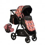 Cangaroo Kolica i Auto Sedište Stefanie Colorful Set 2 in 1 (CAN3648CLS)