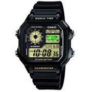 Casio Youth Digital Black Dial Mens Watch - Ae-1200Wh-1Bvdf (D098)