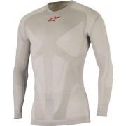 Alpinestars Ride Tech Summer LS Shirt Red Silver XL 2XL