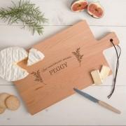 YourSurprise Plateau de fromage - Hêtre - Rectangulaire - Horizontal (M)