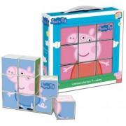 Cefa Peppa Pig - Rompecabezas 9 Cubos