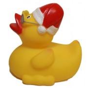 Rubber Duck Santa, Waddlers Brand Rubber Ducks That Float Upright N Race, Seasonal Rubber Ducky Chri