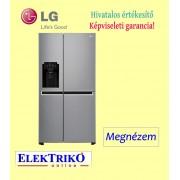 LG GSL761PZXV side by side hűtőszekrény , A+ energiaosztály , SpacePlus jégadagoló, belső víztartállyal rendelkező víz- és jégadagoló