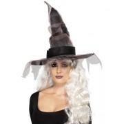 Palarie Vrajitoare Halloween Netting Black