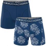 Muchachomalo Shorts 2er-Pack 5597 - Dunkelblau L