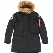 Alpha Industries Polar Damer jacka Svart S