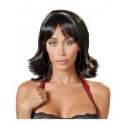 Cottelli Collection: Choppy Black Wig